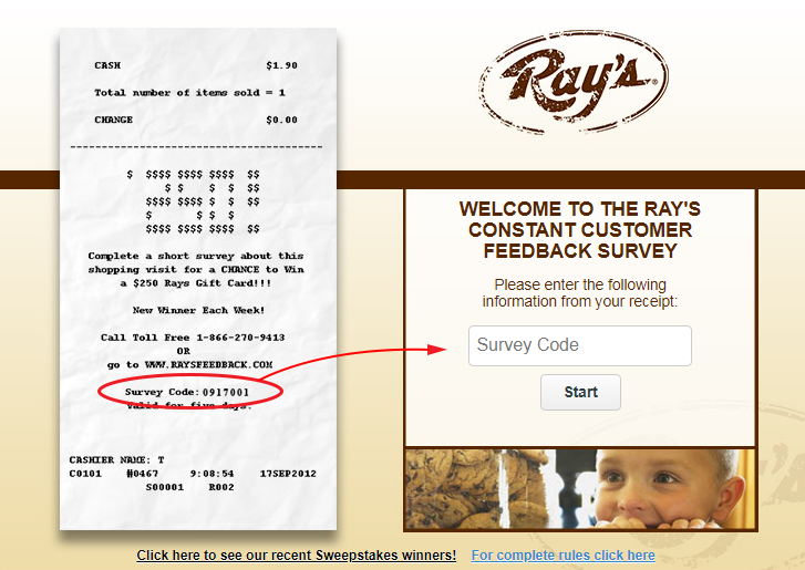 Ray's Guest Satisfaction Survey