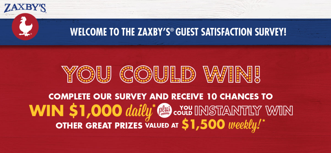 My Zaxby's Customer Experience Survey